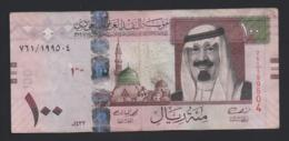 Banconota Arabia Saudita - 100 Riyals 2012 (circolata) - Arabia Saudita
