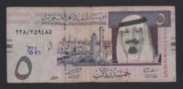 Banconota Arabia Saudita - 5 Riyals 2019 (circolata) - Saudi Arabia