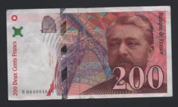Banconota Francia 200 Franchi 1999 (circolata) - 1992-2000 Ultima Gama