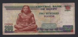 Banconota Egitto - 200 Pounds 2015 (circolata) - Egypte