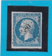N° 14 A   PC  580  CAHORS  /  44-LOT  - REF 13712 - 1853-1860 Napoleon III