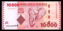 # # # Banknote Tansania (Tanzania) 10.000 Shillingi UNC # # # - Tansania