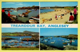 Anglesey - Treadrddur Bay, Multiview - E.T.W. Dennis Postcard - 1973 - Anglesey