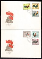 QY36   Germany DDR 1979 Hühner Chicken Poulets Polli - FDC - Gallinacées & Faisans