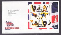 Great Britain 2005 London Olympic Bid 2012 FDC - FDC