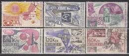 CSSR 1967  - MiNr: 1688-1693  Komplett   Used - Raumfahrt