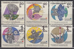 CSSR 1970  - MiNr: 1970-1975  Komplett   Used - Raumfahrt