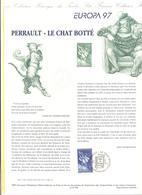 FRANCIA - France - 1997 - Europa Cept - Document Philatélique - FDC - Strasbourg - Documenti Della Posta