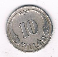 10 FILLER 1926 HONGARIJE /3113/ - Hungary