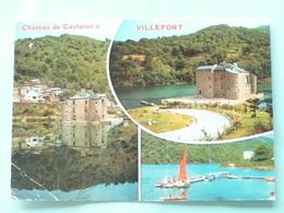 V10-48-lozere- La Chateau De Castanet--villefort- - Villefort