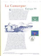 FRANCIA - France - 1999 - Europa Cept - Document Philatélique - FDC - Strasbourg - Documenti Della Posta