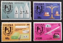 Ghana  1976 Introduction Of Metric System M.N.H - Ghana (1957-...)