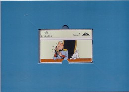 TINTIN 3ème Carte Belgacom Neuve - L'OREILLE CASSEE N°1 - Tirage 4000 Ex - Carte Numéro II/VI  N° 1418 - Comics