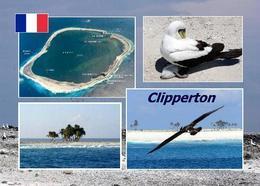 Clipperton Island Ile De La Passion Multiview New Postcard - Frankreich