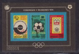 Uruguay 1974 World Cup Football Bl 39 UPU - 1974 – Germania Ovest