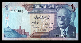 # # # Banknote Tunesien (Tunisia) 1 Dinar 1972 # # # - Tunesien