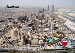 Bahrain Manama Aerial View New Postcard - Bahrain