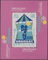 Uruguay 1974 World Cup Football Turism UPU Sheet BL 20 - Coppa Del Mondo