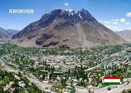 Tajikistan Khorugh Aerial View New Postcard Tadschikistan AK - Tadjikistan