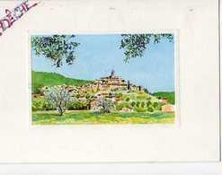 J CHAMAILLARD Village , Carte Postee De L'Ardeche - Zumbusch, Ludwig V.