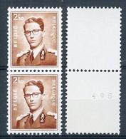 BELGIE  Boudewijn Bril * R 30 + 1 * ROLZEGEL * Postfris Xx - Coil Stamps