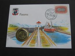 PANAMA - Balboa 1983  - Monnaie Sur Enveloppe   **** EN ACHAT IMMEDIAT **** - Panama