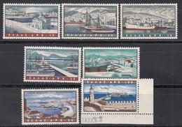 1958 Yvert Nº 69 / 75  /**/ - Luftpost