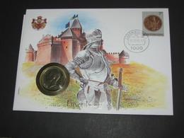 LUXEMBOURG - 10 Francs 1980  - Monnaie Sur Enveloppe   **** EN ACHAT IMMEDIAT **** - Luxembourg