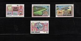COOK ISLANDS, 1974 UPU Centenary 4v MNH - Cook