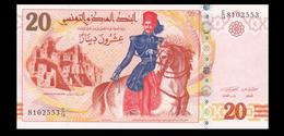 # # # Banknote Tunesien (Tunisia) 20 Dinars 2011 UNC # # # - Tunisia