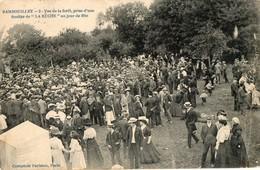 """78. CPA. RAMBOUILLET. Un Jour De Fête, Vue De La Forêt, Prise De """"la Ruche.""""  1910 - Rambouillet"""