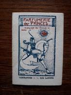 L18/148 Petite Carte Publicitaire . Parfumerie Des Princes. Paris - Reclame