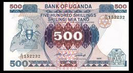 # # # Banknote Uganda 500 Shilling 1986 UNC # # # - Uganda