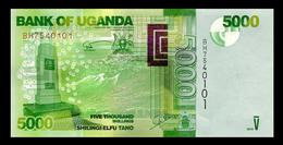 # # # Banknote Uganda 5.000 Shillingi UNC # # # - Uganda