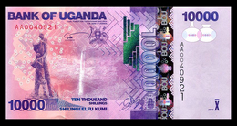 # # # Banknote Uganda 10.000 Shillings 2010 UNC # # # - Uganda