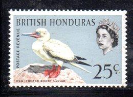 XP3593 -  BRITISH HONDURAS  1962, 25  Cents N. 177  *** - Honduras Britannique (...-1970)
