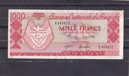 Rwanda 1000 Fr 1976 XF - Billets