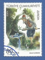 Türkei  2010  Mi.Nr. 3824 , EUROPA CEPT - Kinderbücher - Gestempelt / Used / (o) - Europa-CEPT