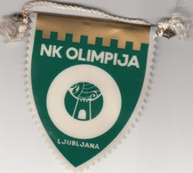 Pennant NK FC Olimpija Ljubljana Slovenia Slovenija Yugoslavia Football - Apparel, Souvenirs & Other