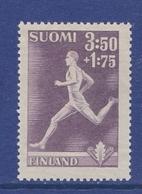 ATHLETICS SPORT PAAVO NURMI FINLAND 1945 MNH MI 288 OLYMPIC GOLD MEDAL - Athletics