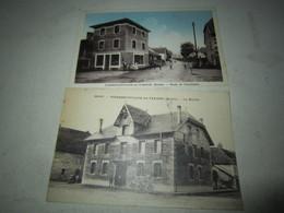 Lot Cpa Carte Postale Ancienne Pierrefontaine Les Varans - France
