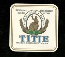 Sotto-boccale O Sottobicchiere - TITJE  2 - Birra - Beer Mats - Sousbocks - Bierdeckel - Coaster - Posavasos - Deckel - Sotto-boccale
