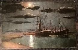 NAVI SUL CANALE DI SUEZ - Barche