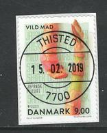 Denemarken, Yv 1912 Jaar 2018, Op Papier, Gestempeld - Gebraucht