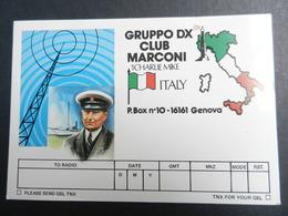 19917) GRUPPO DX CLUB MARCONI RADIOAMATORI GENOVA - Radio & TSF
