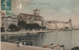 Bouches Du Rhone : LA CIOTAT : Le Quai Ganteaume ( Colorisée ) - La Ciotat