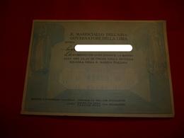 Il Maresciallo Dell'aria Governatore Della Libia Invito Militare No Italo Balbo - Documents