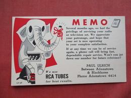 RCA Tubes   Between Adamstown & Blachorse  Pa. Ref 3265 - Vietnam