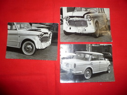 Lotto 3 Foto Auto Fiat 110 D Incidentata - Automobili