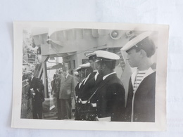 ST PIERRE ET MIQUELON - JUILLET 1967 Visite  Du Géneral DE GAULLE Avant Voyage Au Québec Ref 0928 - Célébrités